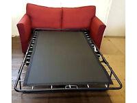 Hoh Malton Fabric Sofa Bed-Wine . Can deliver