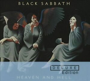 Heaven and Hell [Deluxe Edition] [Digipak] by Black Sabbath (CD, Apr-2010, 2...
