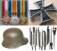 WANTED : WW1 & WW2 Collectables