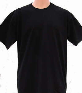 FRUIT OF THE LOOM men's plain blank T-SHIRT top - all sizes S-XXXL NEW