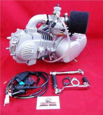 YX140cc Pit Bike Engine, 26mm Molkt Carb Kit, & Complete Loom. YX140 14 Bhp.