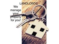 Are you a landlord? Do you want your property to be managed professionally? £50 p/month