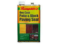 Patio and block paving seal, 5 litre, one coat.