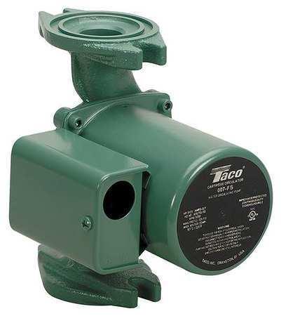 TACO 007-F5 Hot Water Circulator Pump,1/25 HP