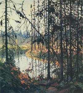 """Collectors Edition """"Northern River"""" by Tom Thomson"""