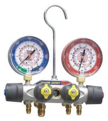 Yellow Jacket 49962 Mechanical Manifold Gauge Set4-valve