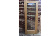 Oak Door. Internal. Nearly New