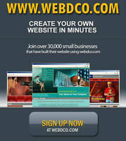 Create your own website online easy to use