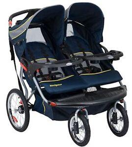 Baby Trend Navigator Swivel Wheel Double Jogger Jogging ...