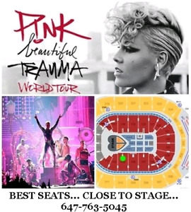 P!NK: Beautiful Trauma Tour 2019 - Best Tickets Close To Stage!!
