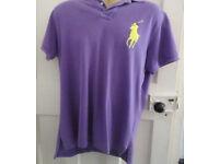 Mens genuine Ralph Lauren custom fit polo shirt size M