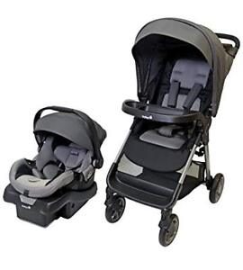 (new)Safety 1st Smooth Ride LX Travel System- Monument