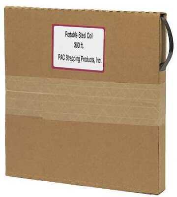 Pac Strapping Products 58x.020-300 Steel Strapping20 Mil300 Ft. L