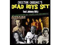 Cheetah Chrome's Dead Boys Set @ The Underworld Camden