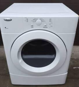Whirlpool Electric dryer, 1 year  warranty