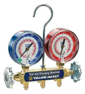 Yellow Jacket 42001 Mechanical Manifold Gauge Set2-valve