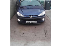 Peugeot 206-2001 ( winter car / run about / cheap )