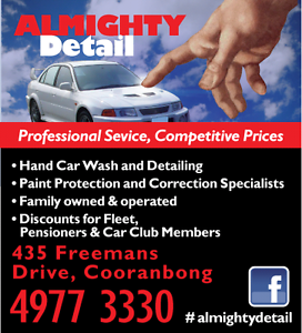 Detailing and Hand Car Wash Central Coast Cooranbong Lake Macquarie Area Preview