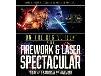 ROYAL WINDSOR FIREWORKS DISPLAY AND STAR WARS DRIVE-IN MOVIE