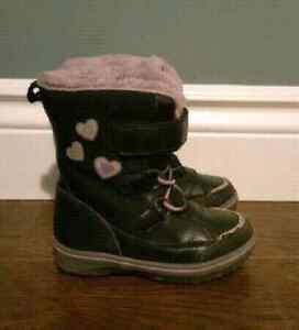 Size 10 girls winter boots