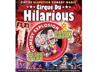 Cirque Du Hilarious – Comedy Explosion on April 17, 2017
