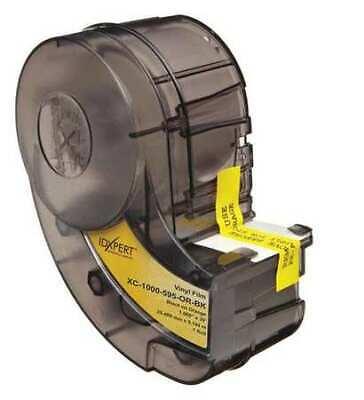 Brady Xc-1500-595-yl-bk 1-12 X 30 Ft. Blackyellow Adhesive Label Tape
