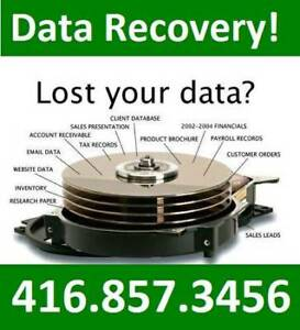 Data Recovery: Hard Drive + USB thumb/ Flash Drive Data Recovery
