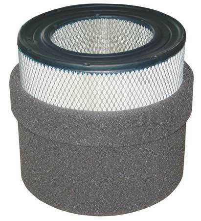 SOLBERG 244P Filter Element,Paper,2 Microns