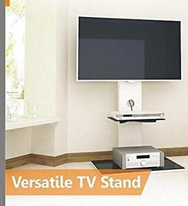 Stylish Glass and Wood TV Stand With TV Mount ** NEW PRODUCT **