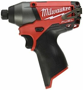 Milwaukee 1/4inch M12 FUEL Brushless Hex Impact Driver Tool Only