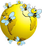 Fourbusybees