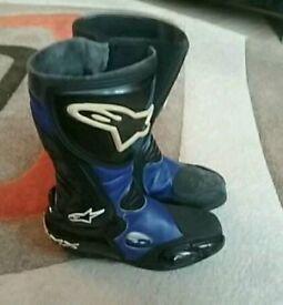 Alpinestars motorcycle boots euro size 37