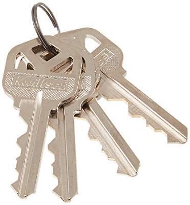 40 Piece Kwikset 5 Pin Precut Coded Keys- 4 Keys Alike Per Set
