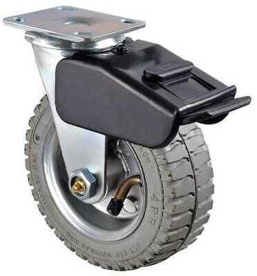Zoro Select 1ulh2 Swivel Pneumatic Caster W Brak6 In.200 Lb.