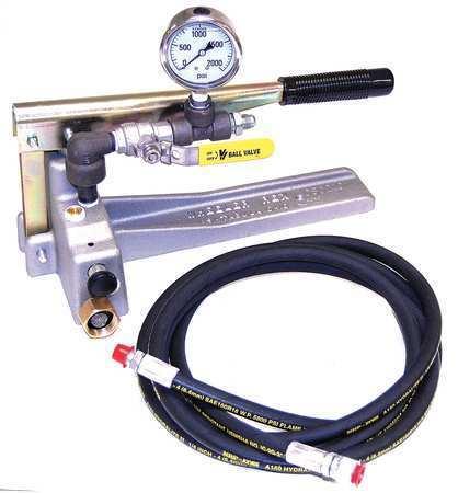 WHEELER-REX 29201 Hydrostatic Test Pump,1000 PSI
