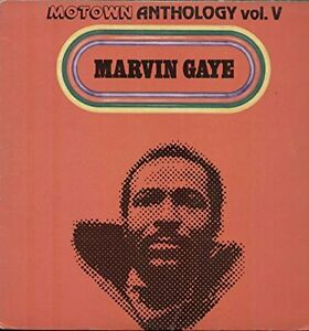 3 vinyl record set Marvin Gaye - Anthology in VG+ condition