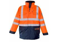 Hi Vis Work Jacket