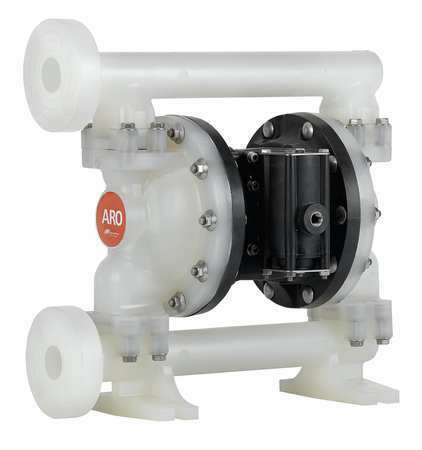 ARO PD10P-FPS-PAA Double Diaphragm Pump, Polypropylene, Air Operated,