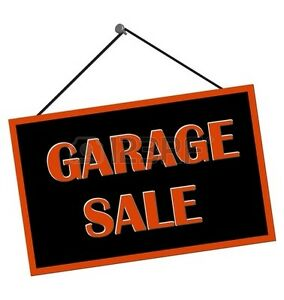 GARAGE SALE SATURDAY 30th   WELLAND DAIN CITY