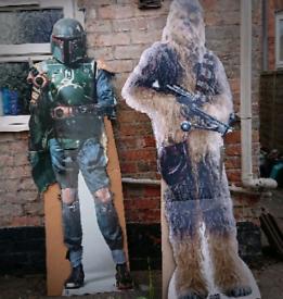 STAR WARS characters - life size cardboard