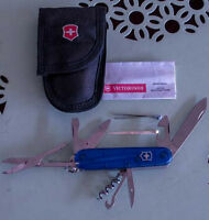 SWISS AMRY KNIFE-VICTORINOX-10 UTENSILS PLUS CASE