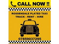 Rossendale Hackney Taxis Available for Hire / Rent / Track Skoda VW Vauxhall Uber Ready taxi Plated