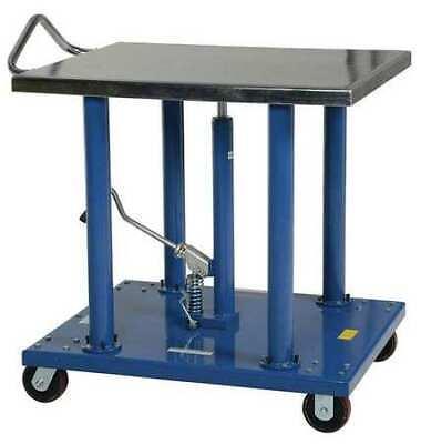 Vestil Ht-20-3036a 36 X 54 Hydraulic Lift Table Load Cap. 2000 Lb.