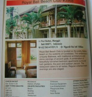 LUXURIOUS REDUCED AGAIN 2X Royal Bali Beach Club Timeshare Week Tuncurry Great Lakes Area Preview