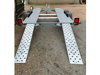 New Woodford WBT 050 12' x 5'10 1600kgs with Ramps Trailer