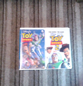 Toy story & Toy story 2 Walt Disney movies on VHS Excellent