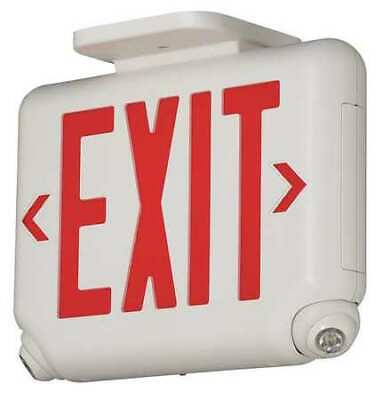 Hubbell Lighting - Dual-lite Evcurwd4 Hubbell Lighting Duallite Exit Sign