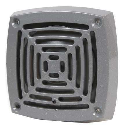 EDWARDS SIGNALING 870P-N5 Vibrating Horn,120VAC,0.13A,Gray