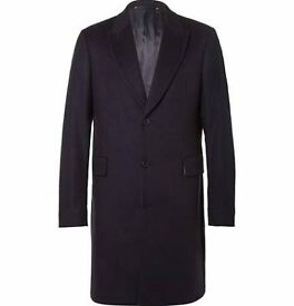 Charcoal Grey Cashmere Dress Coat