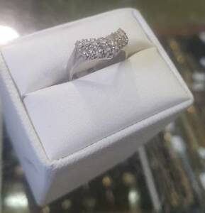 Diamond Platinum Ring $650 & over 500 rings for sale!